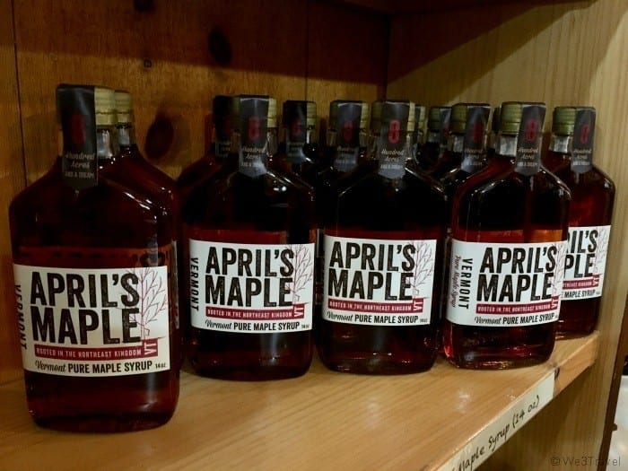 April's Maple syrup