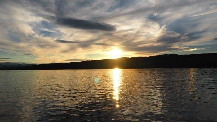 Basin Harbor Lake Champlain sunset