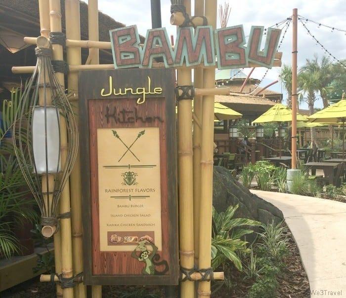 Bambu Jungle at Volcano Bay