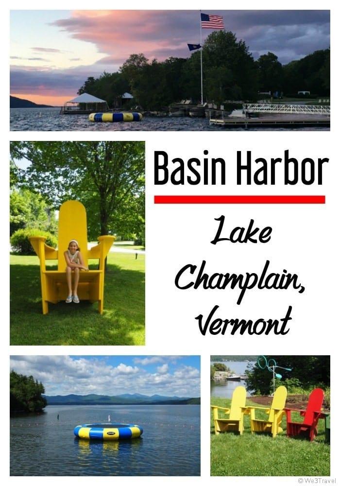 Basin Harbor review - family resort in Lake Champlain Vermont