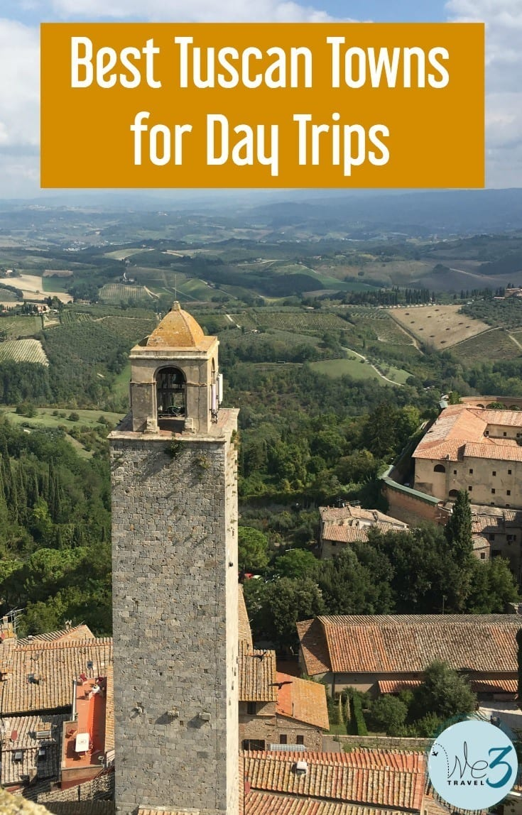 Tuscany travel tips: Best Tuscan towns for day trips from Florence and Rome