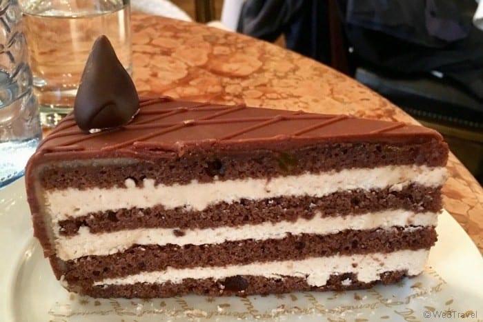 Demel Vienna chocolate cake