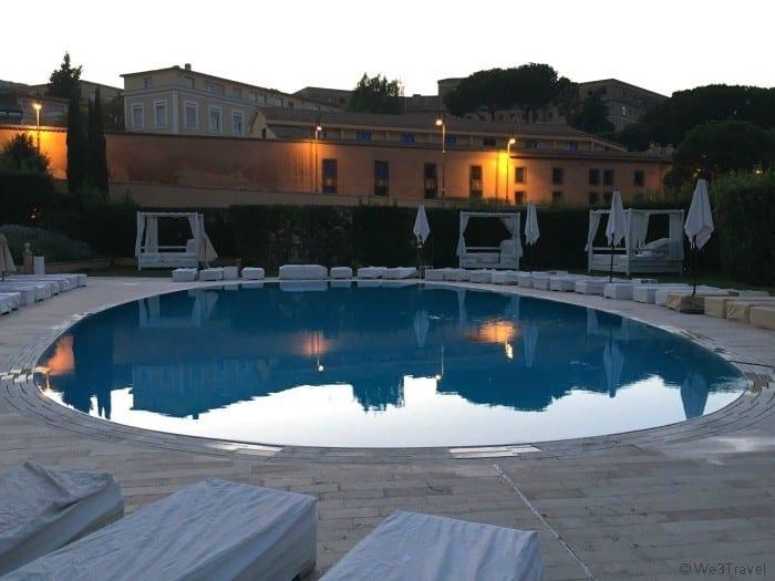 Gran Melia Roma pool