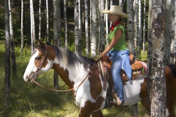 Horseback riding in Ruidoso