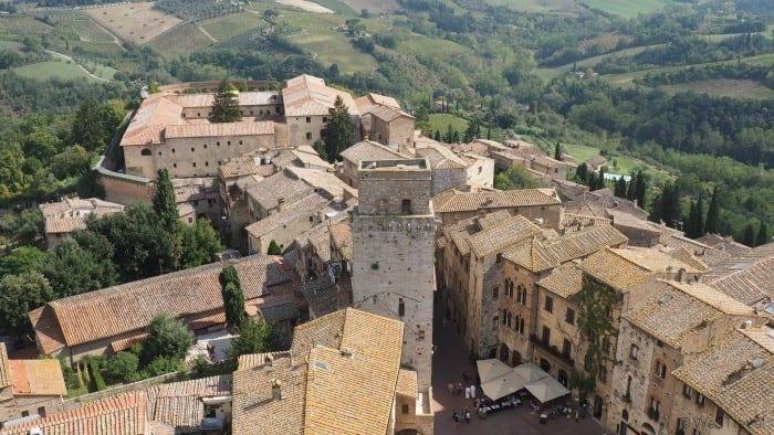 San Gimignano best Tuscan towns