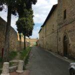 San Gimignano road