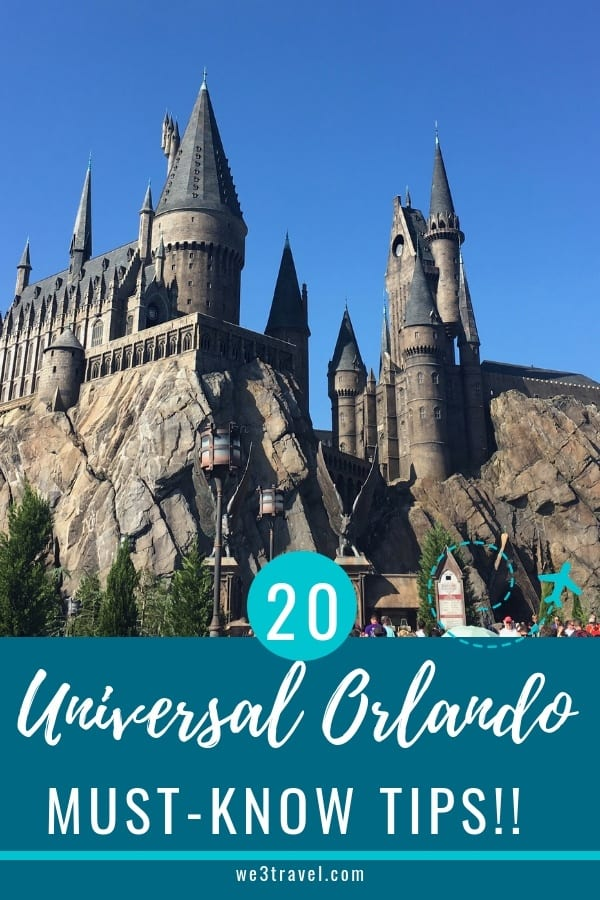 Don't visit Universal Orlando without reading these tips! We cover our best Universal Orlando tips from where to stay, whether or not you need a meal plan when to arrive, where to store your stuff and so much more! #universalorlando #wizardingworldofharrypotter #themeparks #orlando #florida #universal #amusementparks #familytravel