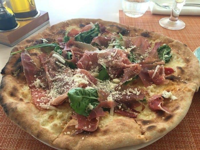 Eden roc blue pizza
