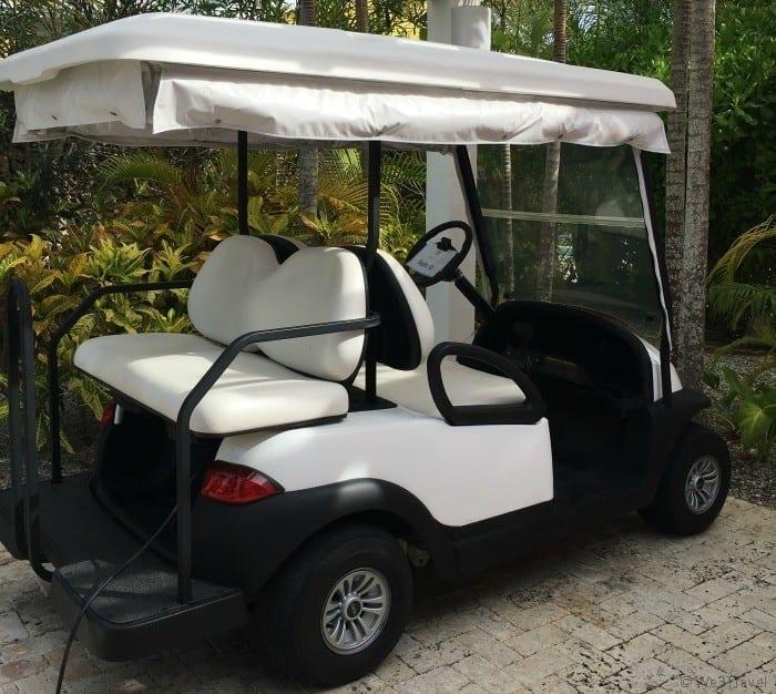 Eden Roc Golf cart