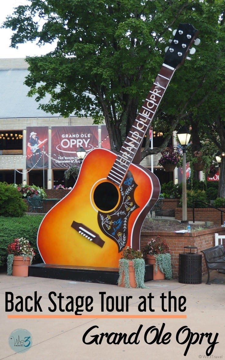 Grand Ole Opry backstage tour review - a night at the Grand Ole Opry in Nashville, TN