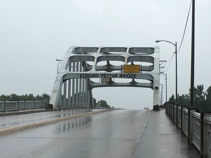 Edmund Pettus bridge in Selma AL