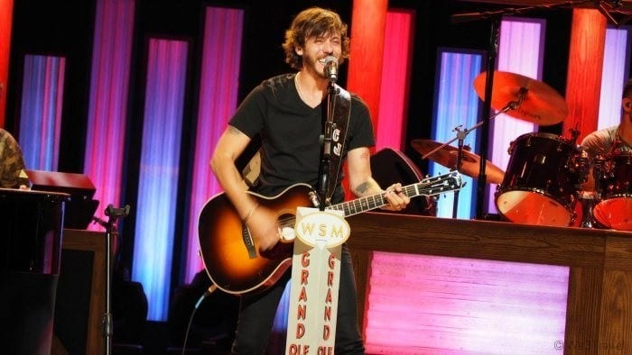 Chris Janson at the Grand Ole Opry