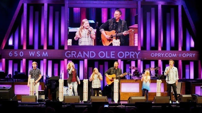 Martin Family circus at the Grand Ole Opry