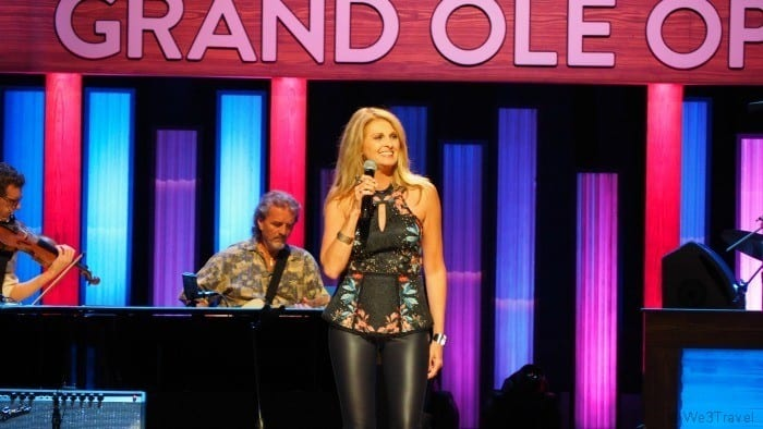 Linda Davis at the Grand Ole Opry