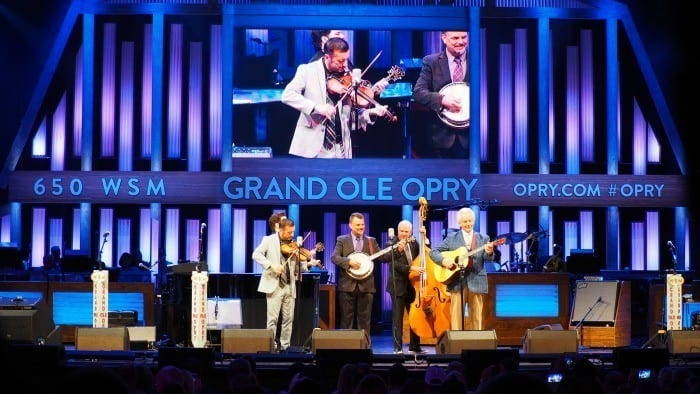 Del McCoury Band at the Grand Ole Opry