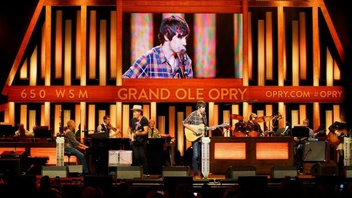 Mo Pitney at the Grand Ole Opry