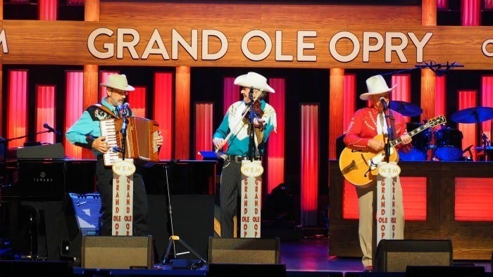 Riders in the sky at the Grand Ole Opry