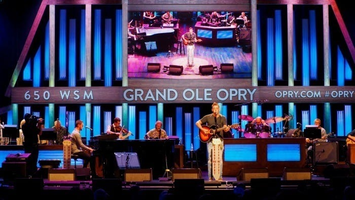 Trent Tomlinson at the Grand Ole Opry
