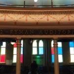 Ryman Auditorium glass