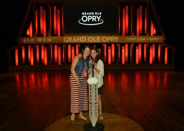 Grand Ole Opry back stage tour review
