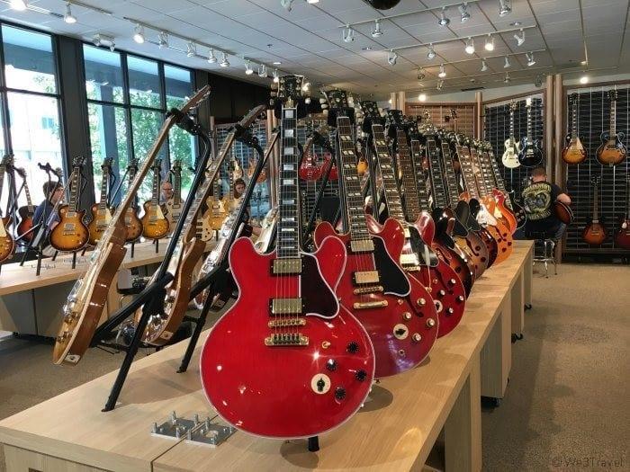 Gibson guitar factory Memphis TN