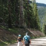 Copper Mountain trail hike