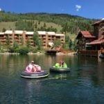 Copper Mountain bumper boats