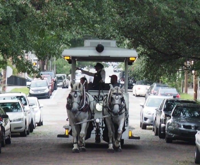 Historic Wilmington NC carriage tour