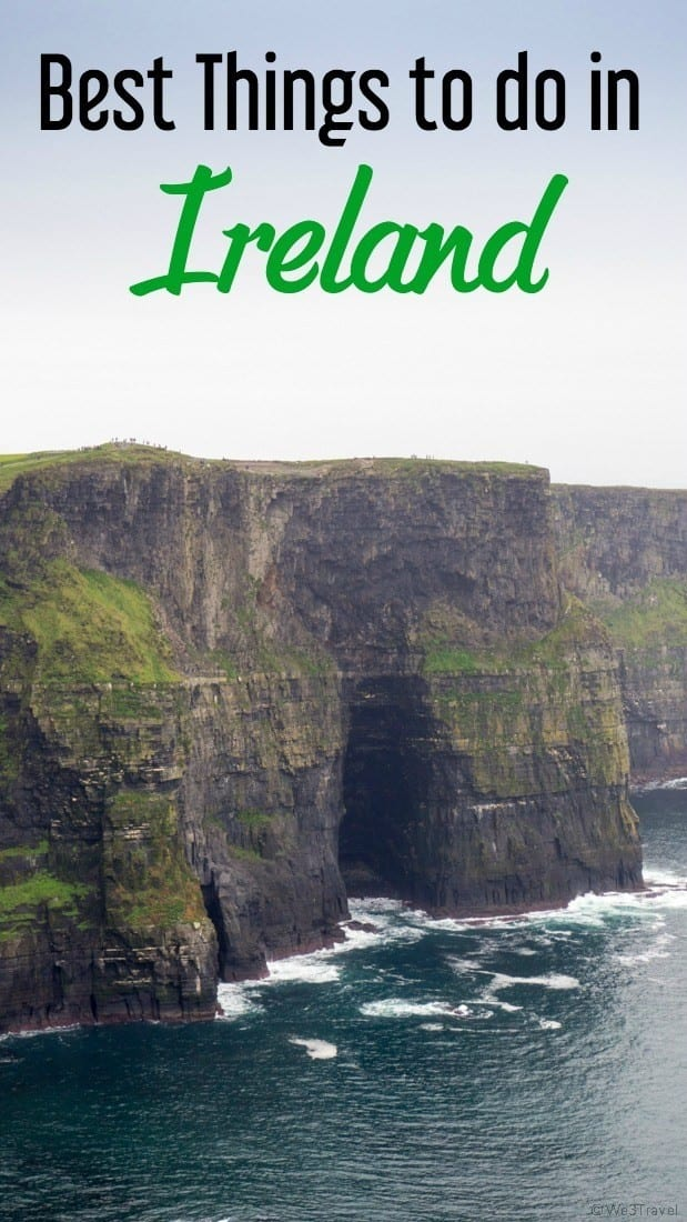 Best things to do in Ireland #Ireland #CliffsofMoher