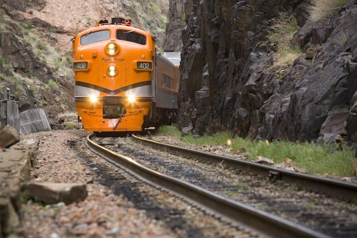 Colorado Springs scenic train rides