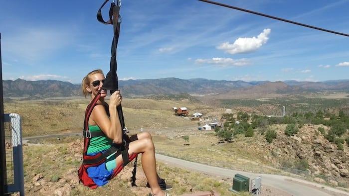 Ziplining in Colorado Springs