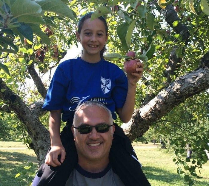 Apple picking in Rhode Island Phantom farms