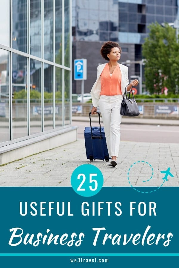 25 useful gifts for business travelers