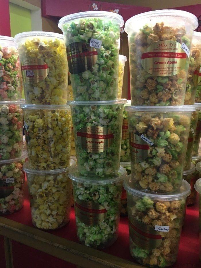 Miss Ds popcorn Sweet Auburn market