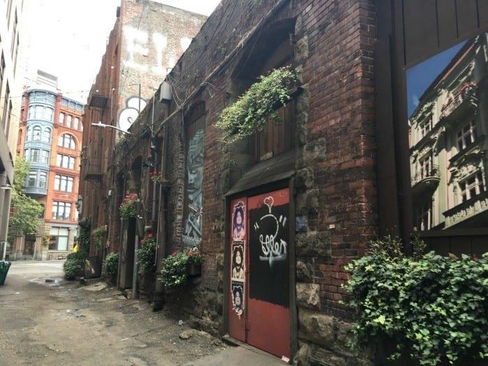 Pioneer Square Seattle Underground tour