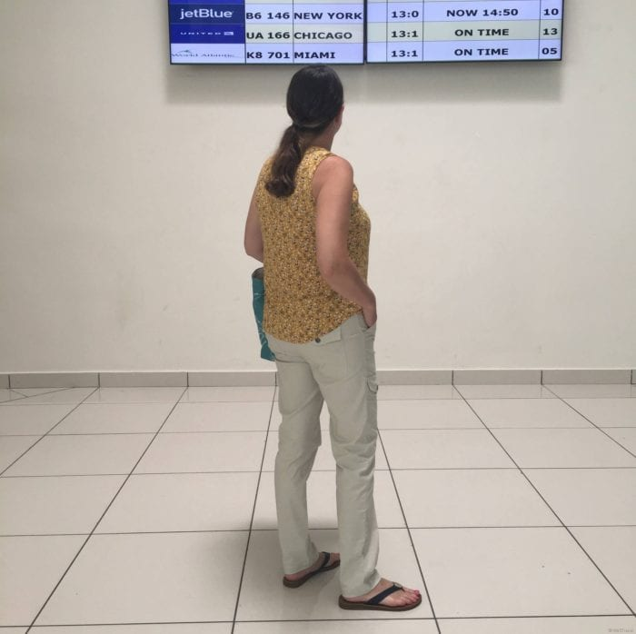 Kate Anatomie travel pants