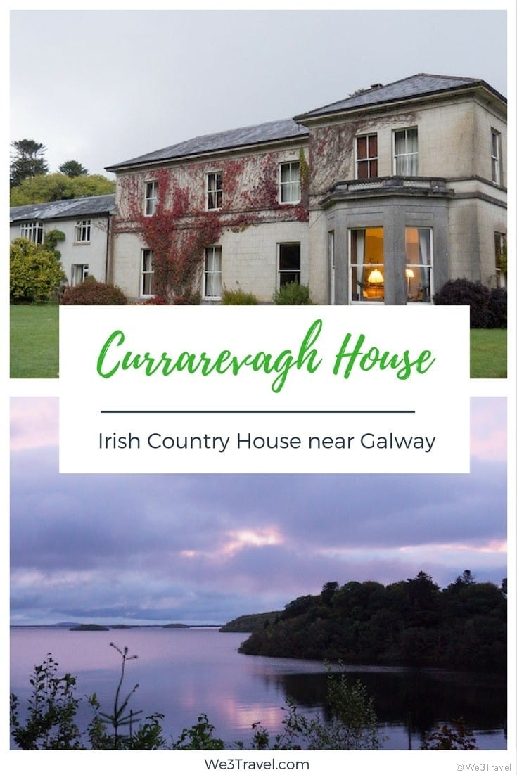 Currarevagh House - an Irish country house near Galway, Ireland #Ireland #irelandtravel