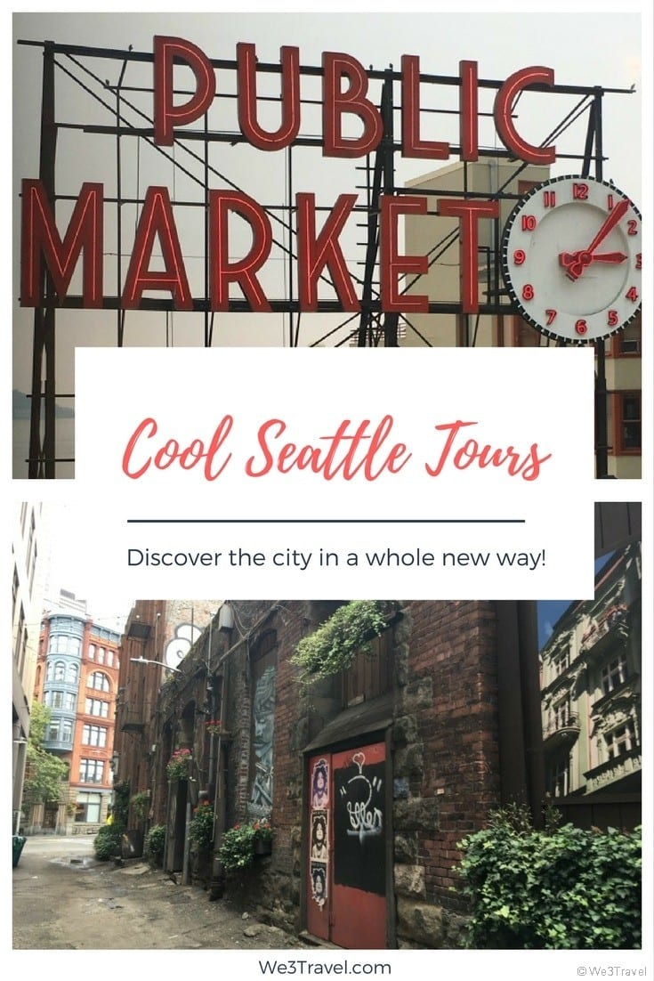 Seattle travel guide: 2 Seattle tours you need to try. Savor Seattle food tour and the Bill Spiedel's Underground Seattle tour. #seattle #seattletravel #foodtour