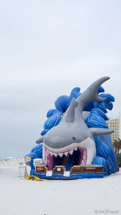 Clearwater Beach inflatables