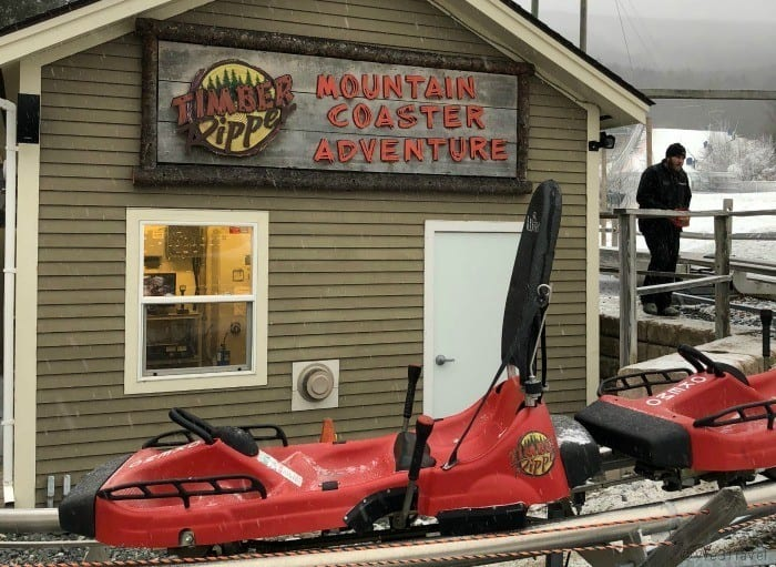 Timber Ripper Mountain Coaster