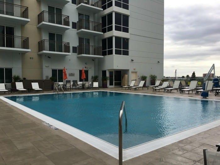 Residence Inn Clearwater pool