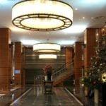 Royal Garden Hotel lobby