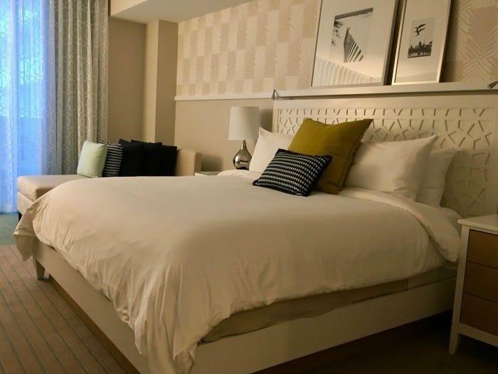 Wyndham Grand Clearwater Beach bedroom