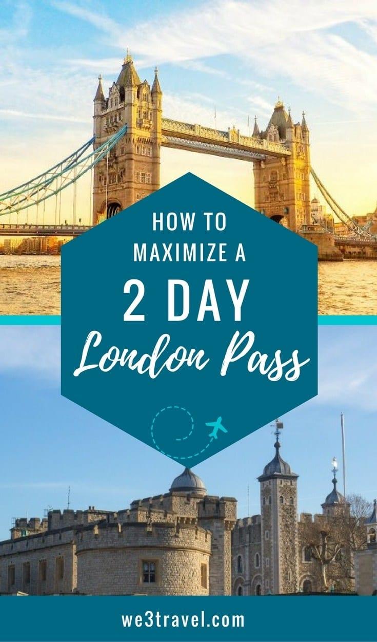 2 Day London Pass Itinerary: Is London Pass Worth It? #london #budgettravel #familytravel