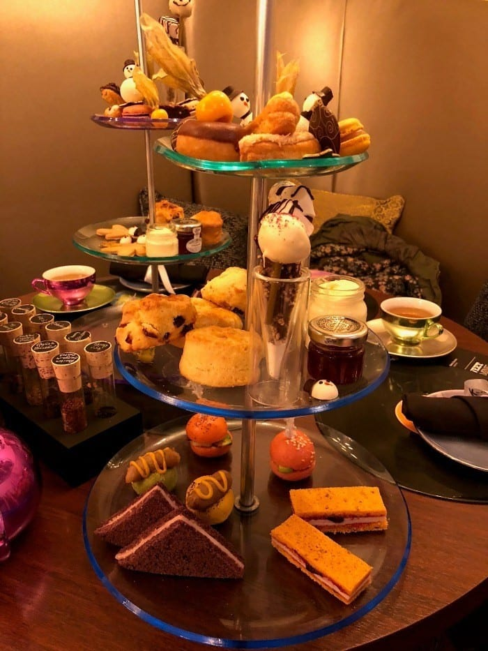 K West Glam Rock afternoon high tea in London