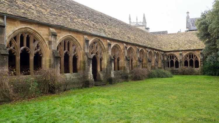 Oxford New College Cloisters