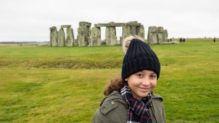 Hannah at Stonehenge