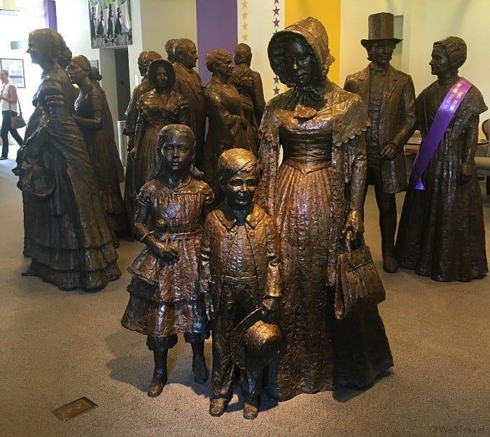 Women's rights center Seneca Falls
