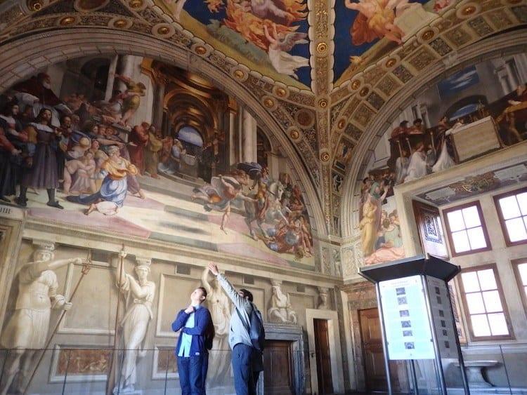 LivItaly Vatican Secret Rooms tour