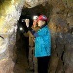 Kim and Don in copper mine